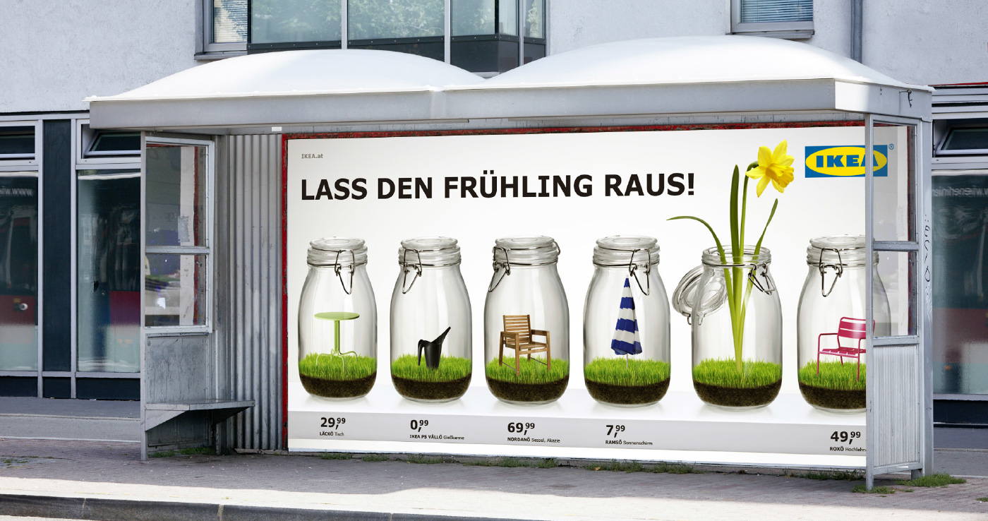 Ikea: Gartenmöbel   Erdgeschoss